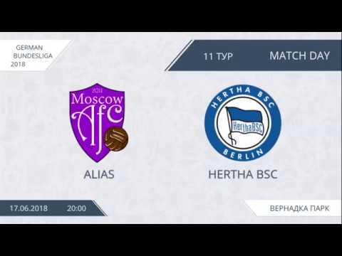 AFL18. Germany. Bundesliga. Day 11. Alias - Hertha BSC