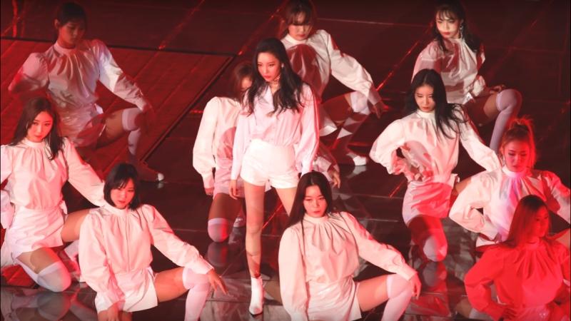 Sunmi Uhm Junghwa - Poison (Frants Remix) SBS Live