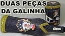 JOGUINHO DE GARRAFA E POTE DE VIDRO DA GALINHA