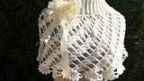 Capa Princesa , en Crochet.