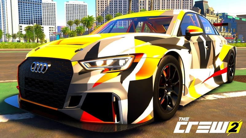THE CREW 2 GOLD EDiTiON (TUNiNG) AUDI RS3 LMS PART 556 ...