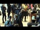 Киану Ривз и Марк Дакаскос на съемках Джона Уика 3