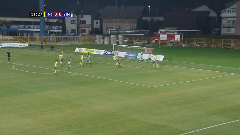 Inter-Zapresic - Vinogradar 3-0, Sazetak (HR kup 2018/19, 1/4 finala), 04.12.2018. Full HD