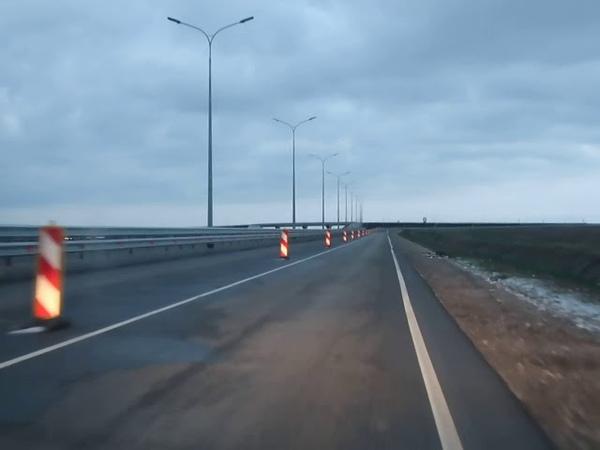 Съезд с трассы Таврида к Приморскому, Феодосия