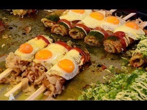 Comida de rua no Japão | delicosos sabores | compilação culinária japonesa