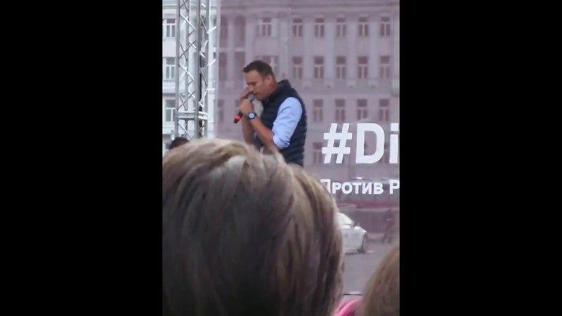 Митинг в поддержку Telegram. В Москве на митинге скандировали Путин ху%ло Москва 30 апреля