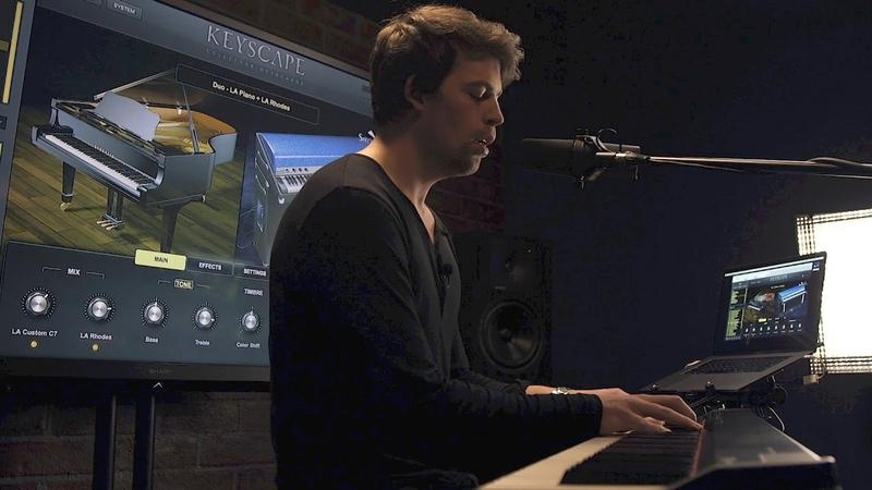 KEYSCAPE Jonah Nilsson Dirty Loops Ballad