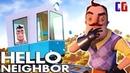 КАТАЮСЬ в ВАГОНЕ по ДОМУ СОСЕДА Прохождение АКТ 3 Привет Сосед Мультяшный хоррор Hello Neighbor