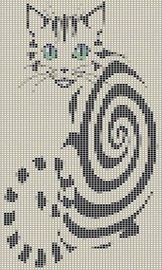 схемы>прямое плетение>ковры