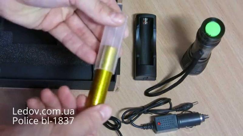 Тактический фонарь Police bl-1837-Xml (T6)