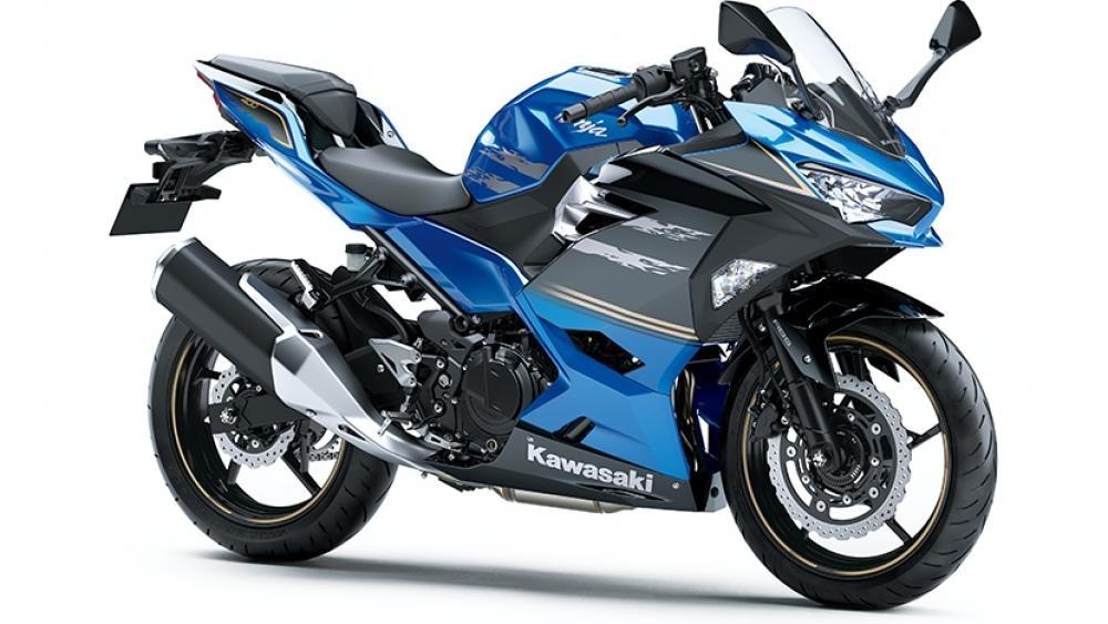 Новые расцветки Kawasaki Ninja 400 2021