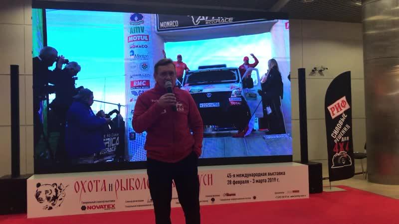 Вячеслав Субботин о системе подкачки колес на ралли Africa Eco Race 2019