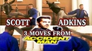 SCOTT ADKINS Teaches 3 Crazy Kicks From Accident Man | Learn from Boyka