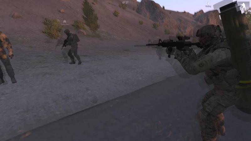 Arma 3 REALWAR Отряд противотанковых ежей и Дедушкина подруга, бабка шалунья. Эпизод первый.