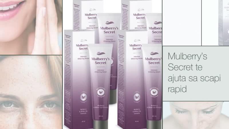 Mulberrys Secret - Отбеливающая сыворотка для лица