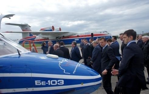 Дмитрий Рогозин в Таганроге