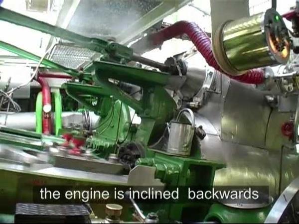 Dampfmaschine der Schönbrunn (1912) Marine Steam Engine With Joys Valve Gear