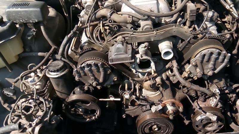 1995 Lexus timing belt replacement part 1