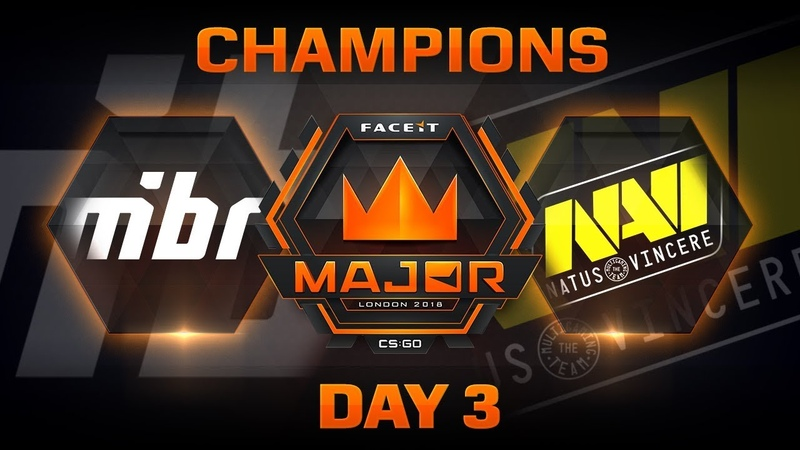 MiBR vs NaVi - Dust 2 (FACEIT Major: London 2018)