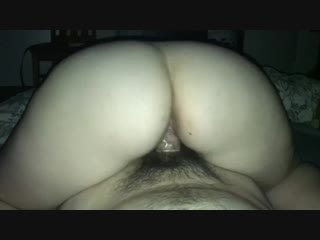 Pawg rides reverse cowgirl - big ass butts booty tits boobs bbw pawg curvy mature milf