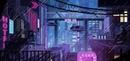 Sad rain boy, night pixel art...
