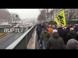 LIVE: Protest against migration pact adoption takes place in Brussels