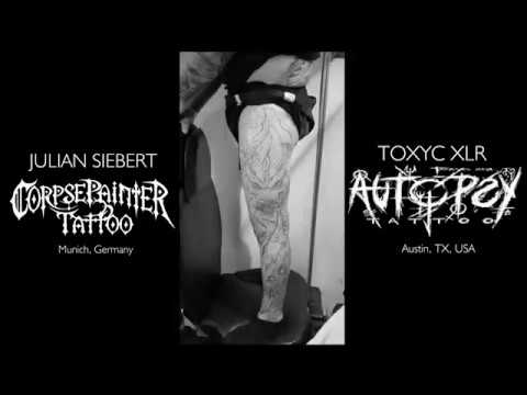 JULIAN SIEBERT x TOXYC XLR - BERLIN TATTOO CONVENTION 2018 COLLABO