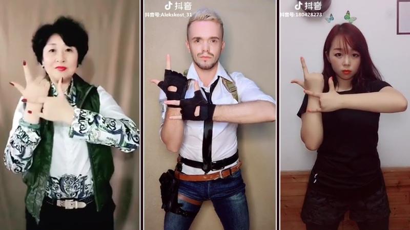 Tik Tok Challenge - Top 3 PUBG Finger Dance Challenge