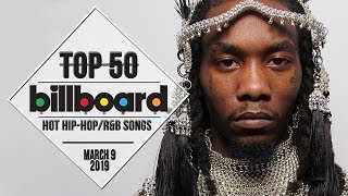 Top 50 • US Hip-Hop/RB Songs • March 9, 2019   Billboard-Charts