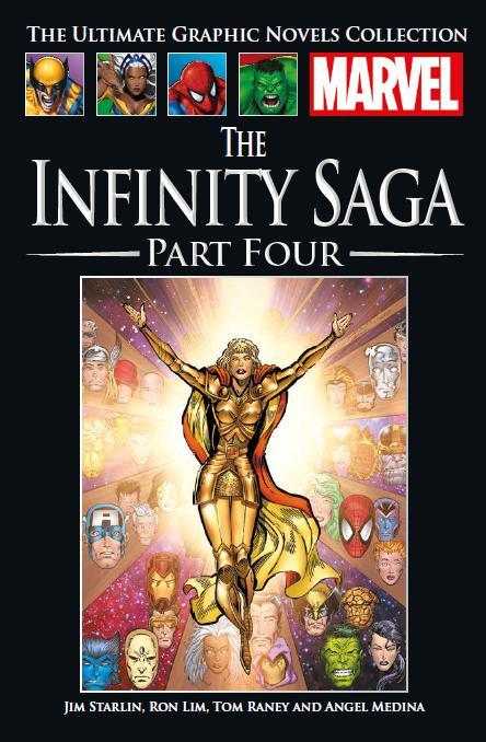 Marvel Официальная коллекция комиксов №139 - Крестовый поход Бесконечности. Книга 1