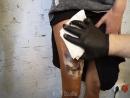 Татуировка тигр в реализме. Тату студия- Kot Studio