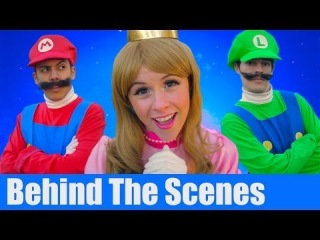 Super Mario 3D World - THE MUSICAL feat. Princess Peach - BEHIND THE SCENES