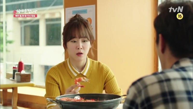 29 Lets Eat 2 Fighting with Time! Yoon Du-jun VS Seo Hyun-jin King Shrimp Food s
