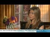 Love Happens - Nelson Aspen talks to Jennifer Aniston: Sunrise exclusive