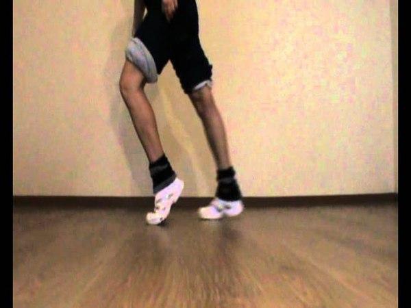Лунная походка вперёд от EHABY. Профи обучение танцам!