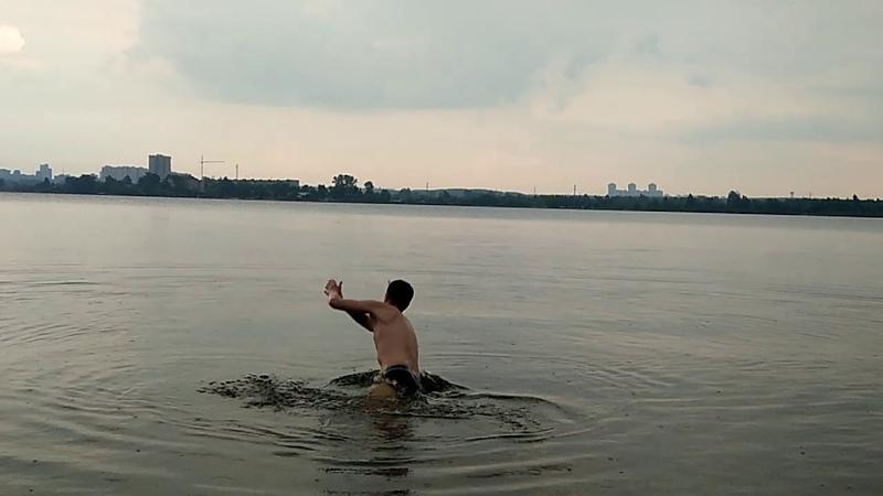 Прогулка на полуостров Баран (Екатеринбург) Верх-Исетский пруд