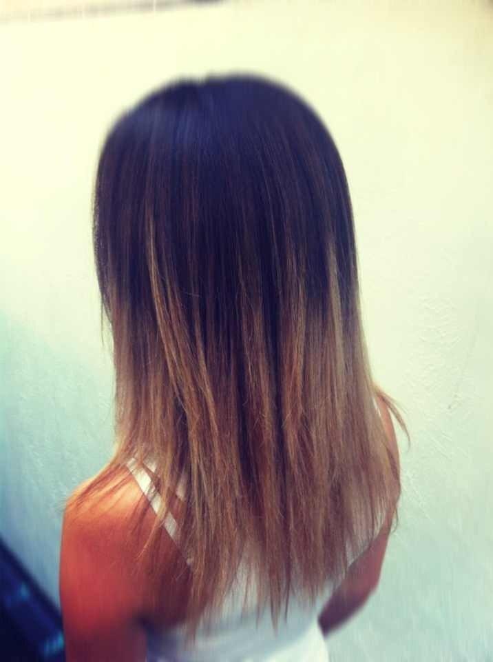 омбре как покрасить волосы