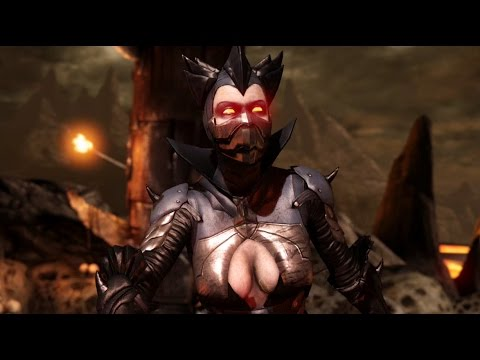 Mortal Kombat X Kitana Dark Empress Ladder Walkthrough and Ending