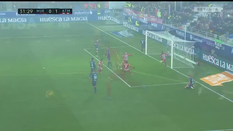 Испания ЛаЛига Уэска Атлетико 0 3 обзор 19 01 2019 HD