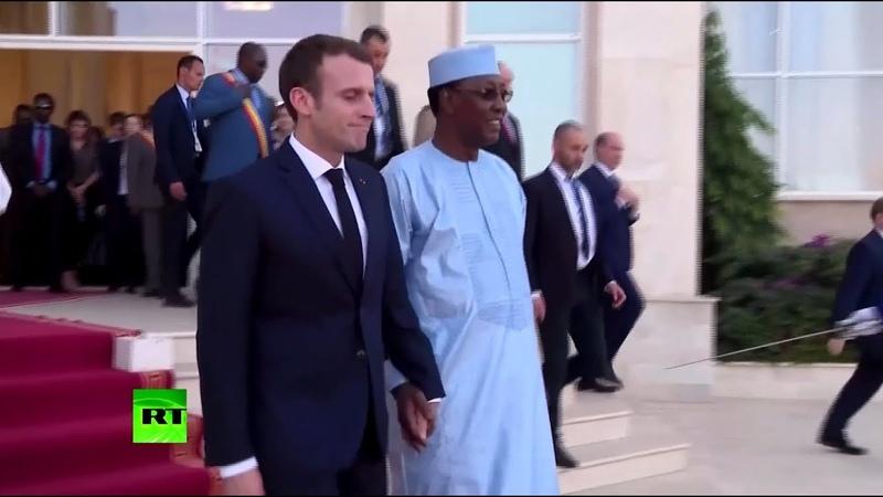 Ударная помощь: почему Франция поддерживает власть президента Чада Идриса Деби
