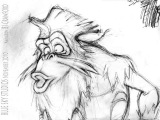 GUTT 2D Animation Test from Ice Age Continental Drift NO AUDIO