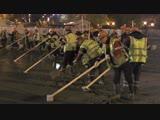 Пресс-тур по текущему ремонту светомузыкального фонтана в Парке Горького