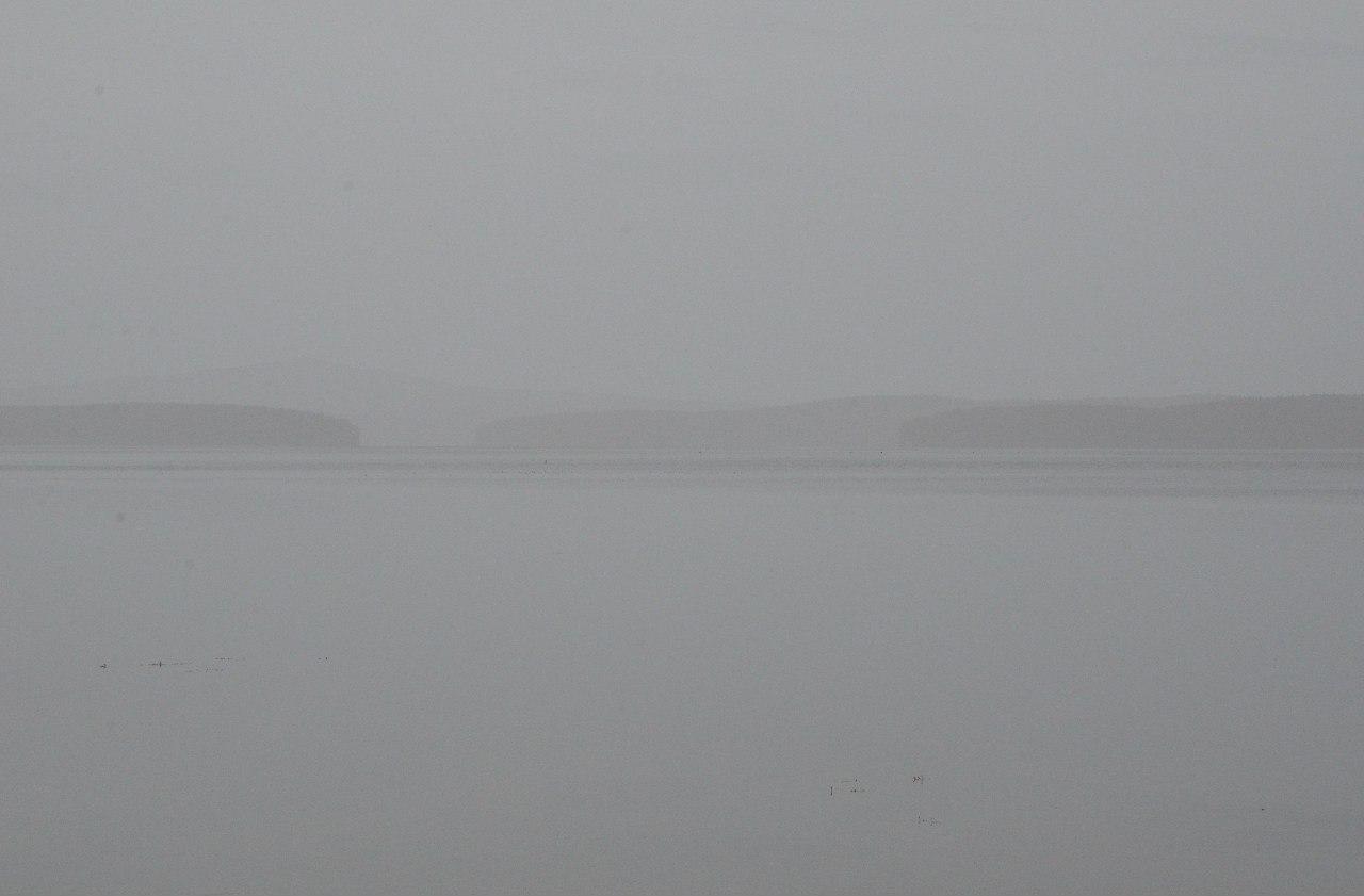 Большое Миассово в тумане (06.11.2014)