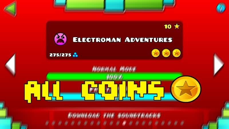 Electroman adventures:ALL COINS