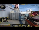 CSGO Stream Channel S1MPLE PLAYING GLOBAL MATCHMAKING ON NUKE