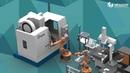 Workshop de manufatura Inteligente Célula Automatizada Indústria 4 0