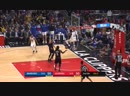 Draymond Green gets a technical foul after powerful dunk _ Warriors vs LA Clippers