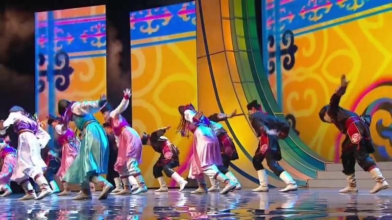Бурятский народный танец «Ёхор»