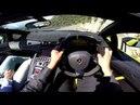 POV Drive Lamborghini Aventador LP750 4 SV Roadster