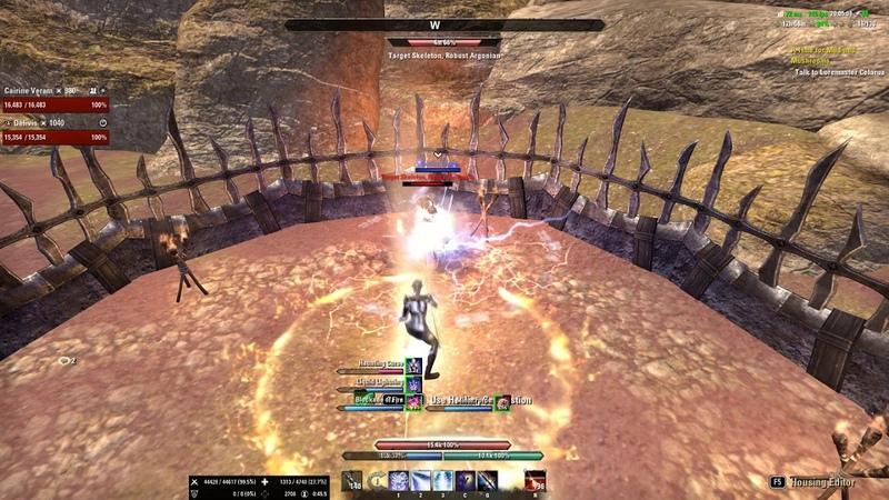 DPS Magicka Sorcerer PvE raid build (50k DPS 6mln dummy) for Wolfhunter DLC Rotation Parse